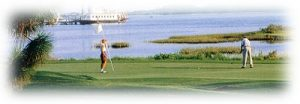 Social activities like golfing at Bay Point Resort in Panama City Beach, FL. There are lots of fun things to do near our Bay Point vacation rentals.